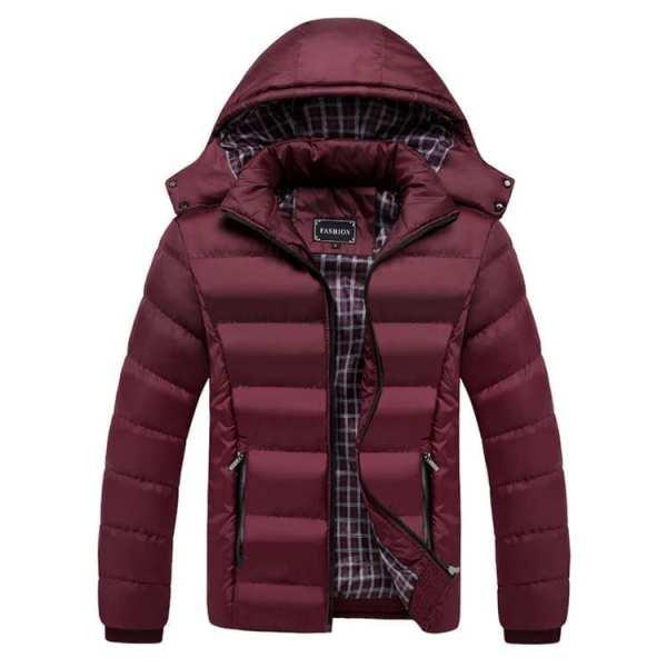 Veste manteau en coton pour hommes