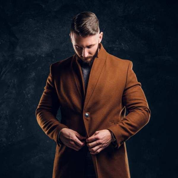 Mode Homme Manteau long