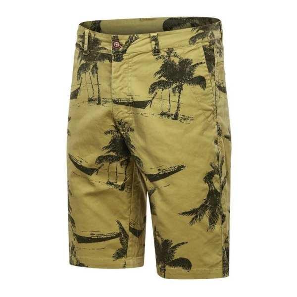Pantalones cortos ancho estilo bermudas estilo carga hombres impresos