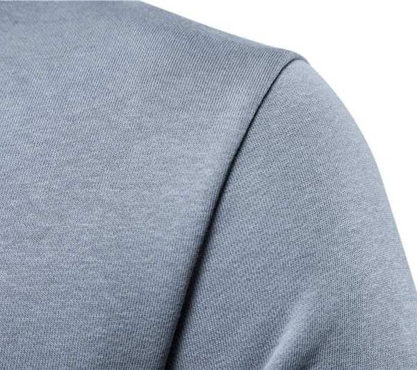 Sweat streetwear single cotton round neck men