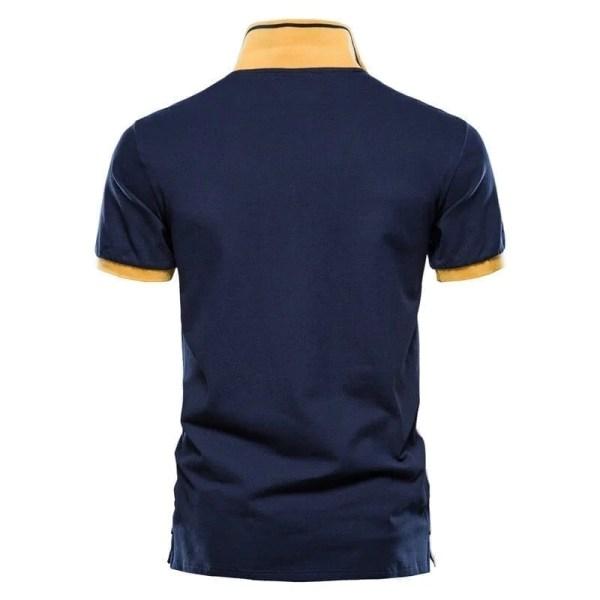 Polo design modern manches courtes hommes