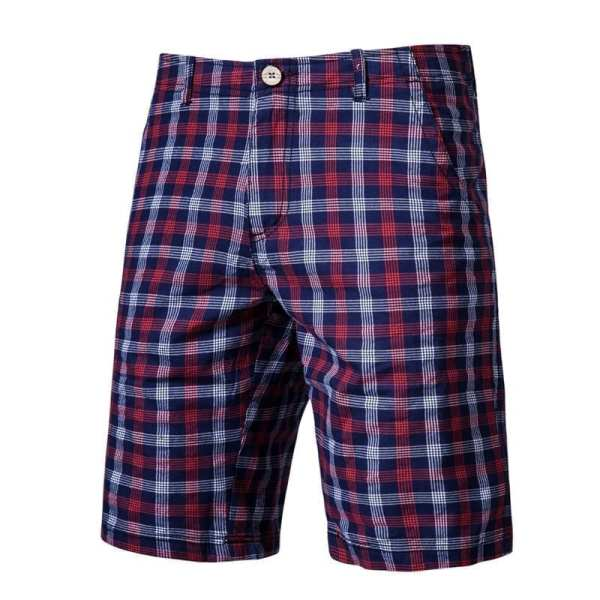 Bermuda-tiled shorts for men