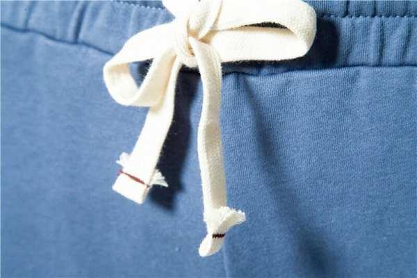 Shorts de algodón sólido para hombre