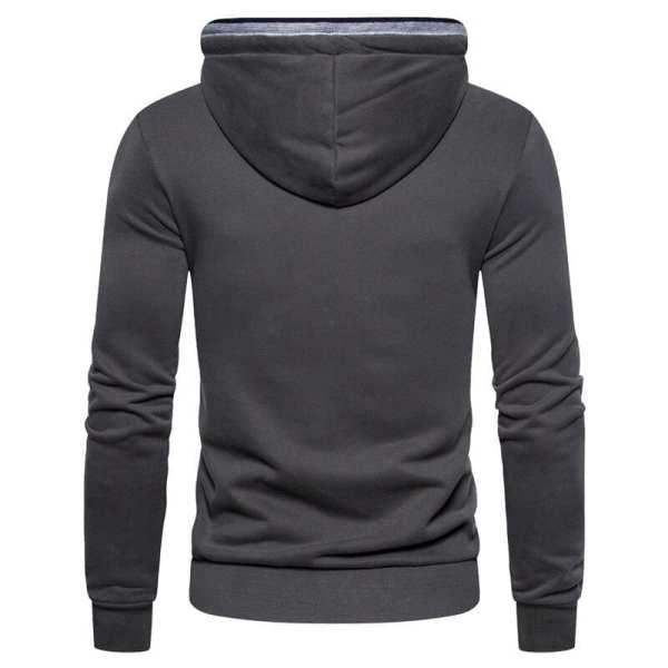 Sweat-shirt hoodie couleur unie design modern hommes