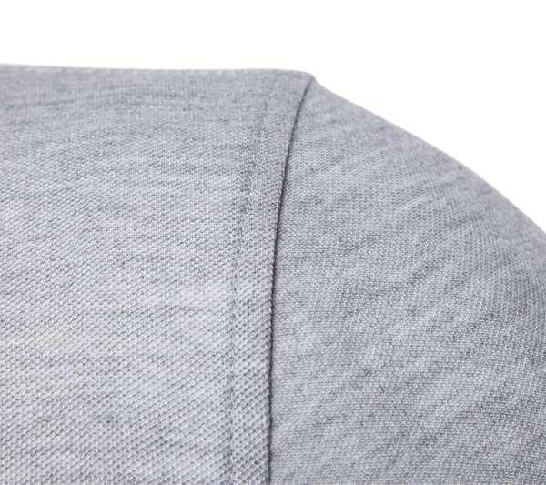 Polo de manga simple de manga corta para hombre