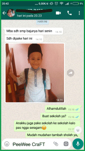 testimoni screenshoot peewee5
