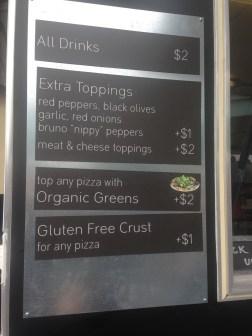 Firetrail menu