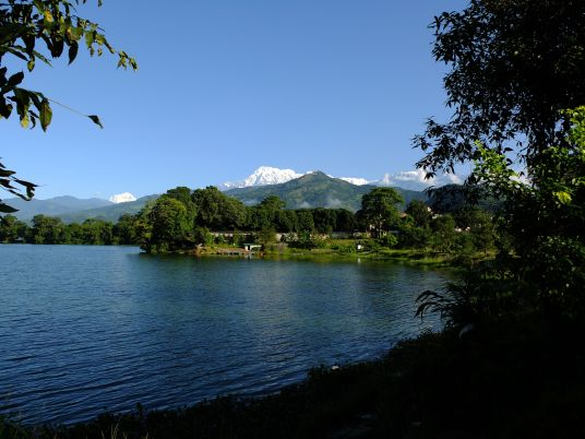 View of the Annapurna