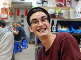 Squid ink smile
