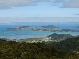 Coromandel town, from up the hill