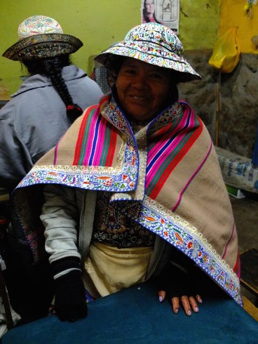 In Canon de Colca, women have their own style