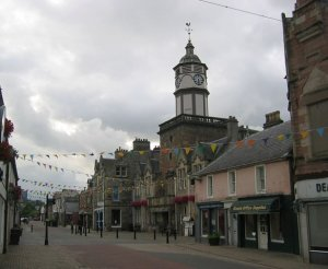 Dingwall high street