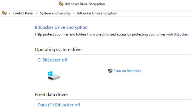 Windows encryption tool