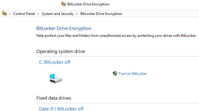 Windows encryption tool