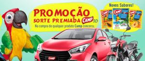 Promoção Camp Sorte Premiada 3D