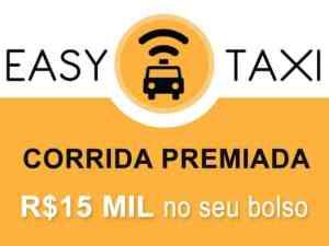 Promoção corrida premiada Easy Táxi