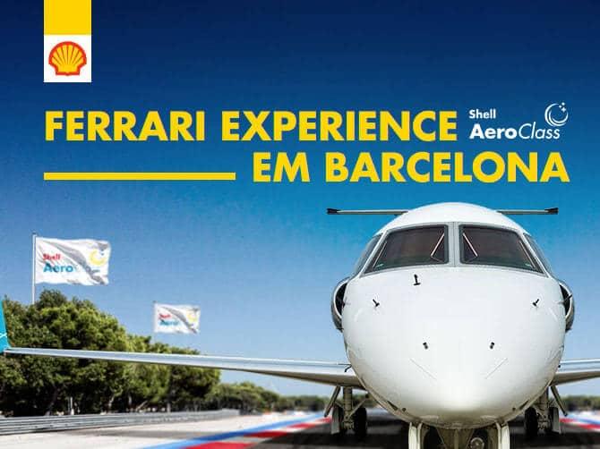 Promoção Shell Aero Class Ferrari Experience