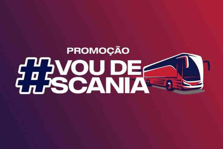 Cadastrar na promoção #VoudeScania