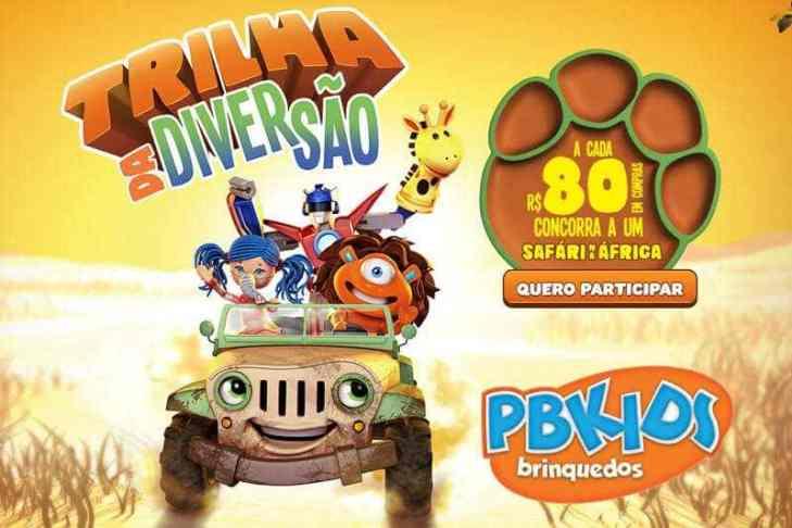 Promoção PB Kids Trilha da Diversão