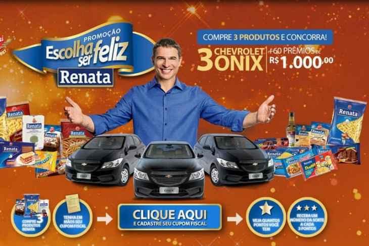 Promoção Renata 2018 - Escolha ser Feliz