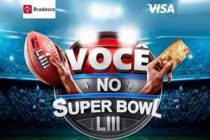 Promoção Bradesco Visa Você no Super Bowl LIII