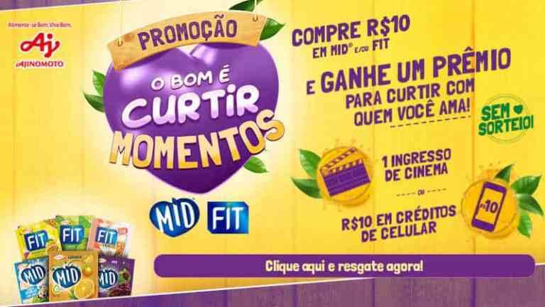 Promoção Mid Fit 2019 - O Bom é curtir momentos