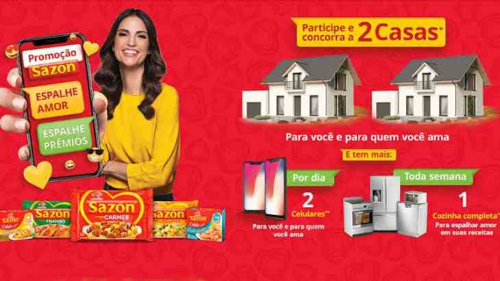 Promoção Sazón Ajinomoto