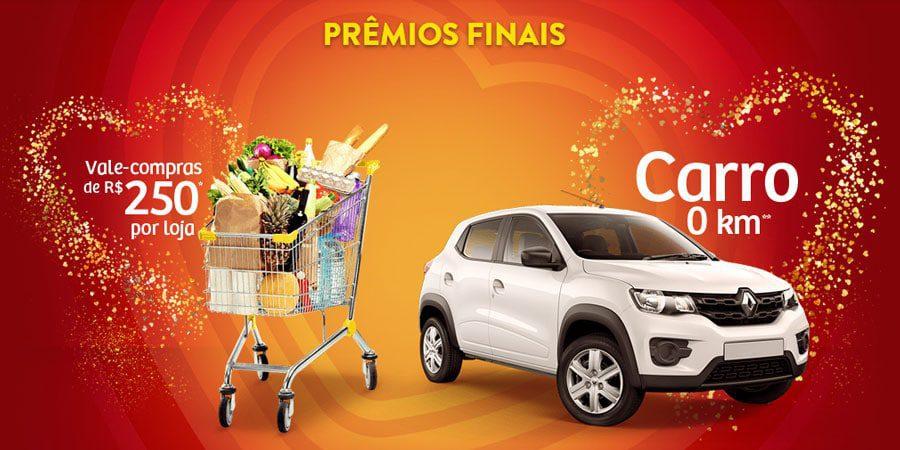 Concorra a 10 carros e a centenas de vales compras com a Promoção Sazón Amor e Prêmios