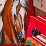Des artistes talentueux exposent leurs toiles colorées