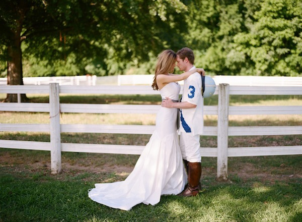 Polo wedding inspiration by Leslie Hollingsworth