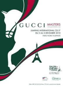 www.pegasebuzz.com | Affiche Gucci Paris Masters 2010