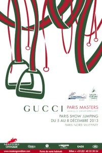 www.pegasebuzz.com | Affiche Gucci Paris Masters 2013