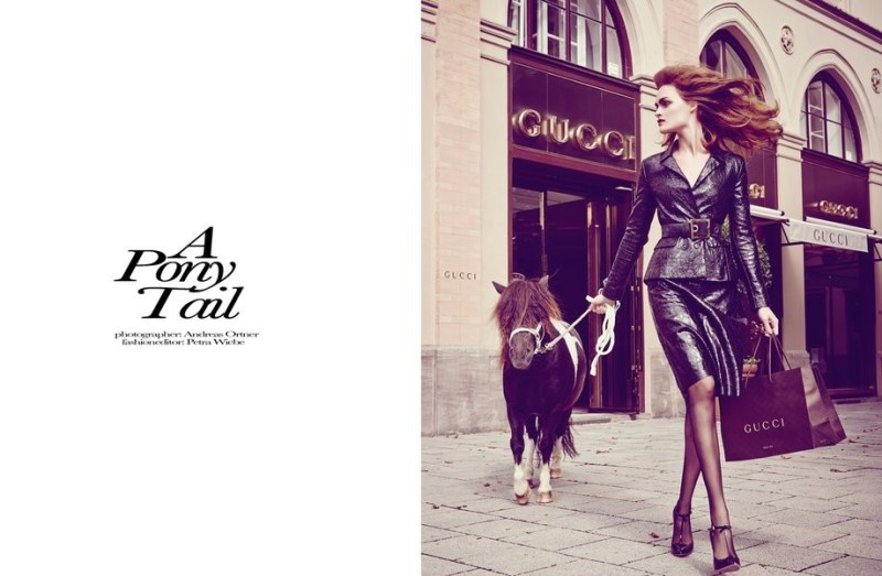 [Equestrian Fashion Editorial] Andreas Ortner for ...