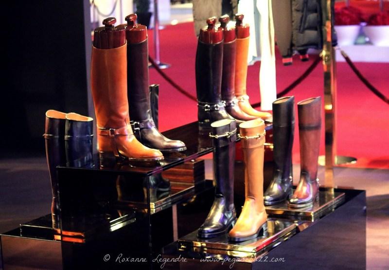 www.pegasebuzz.com | Boutique Gucci Paris Masters 2013 photographiée par Roxanne Legendre