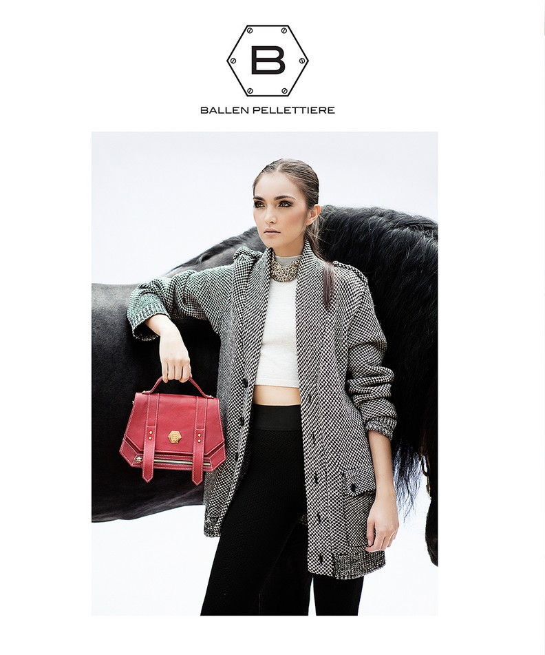 www.pegasebuzz.com | Andrea Swarz for Ballen Pellettiere, Fall-Winter 2014-2015