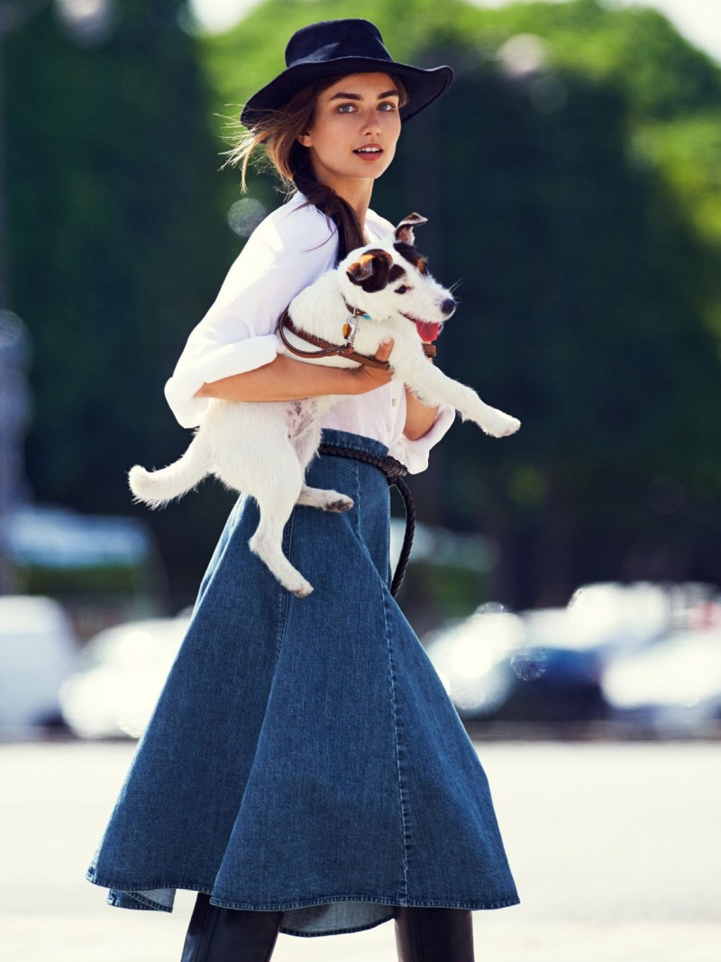 www.pegasebuzz.com | Andreea Diaconu by Gilles Bensimon for Vogue Paris, september 2014