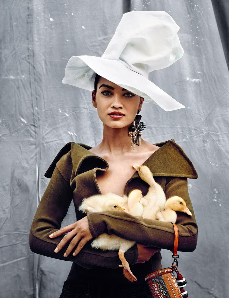www.pegasebuzz.com | Shanina Shaik by Kristian Schuller for Vogue India, december 2014