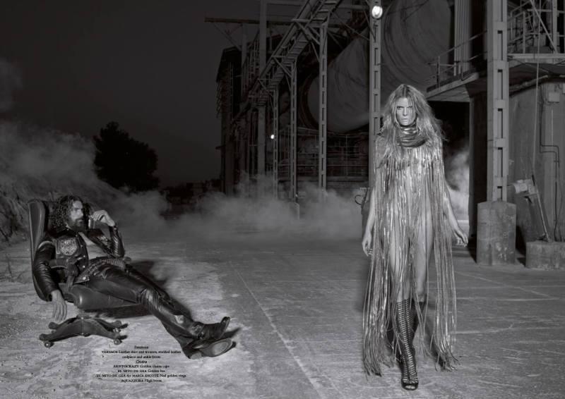 www.pegasebuzz.com | Paraskevas Boubourakas and Cristina Tosio by Jaume de Laiguana for Horse Magazine #5
