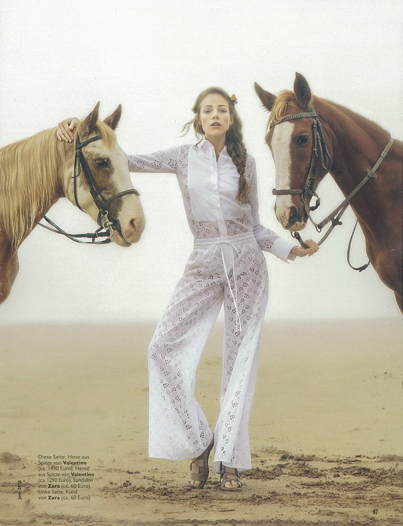 www.pegasebuzz.com | Valeria Garcia by Anna Rosa Krau for Cosmopolitan Germany, june 2015