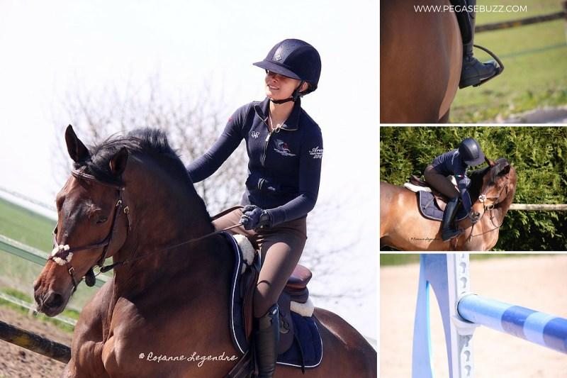 www.pegasebuzz.com | Emma Tallberg by Roxanne Legendre, Saut Hermès 2015 / Ecurie Horse Elite