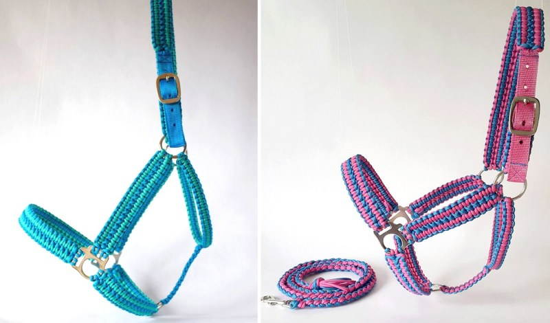 www.pegasebuzz.com | Handwoven Browbands halters
