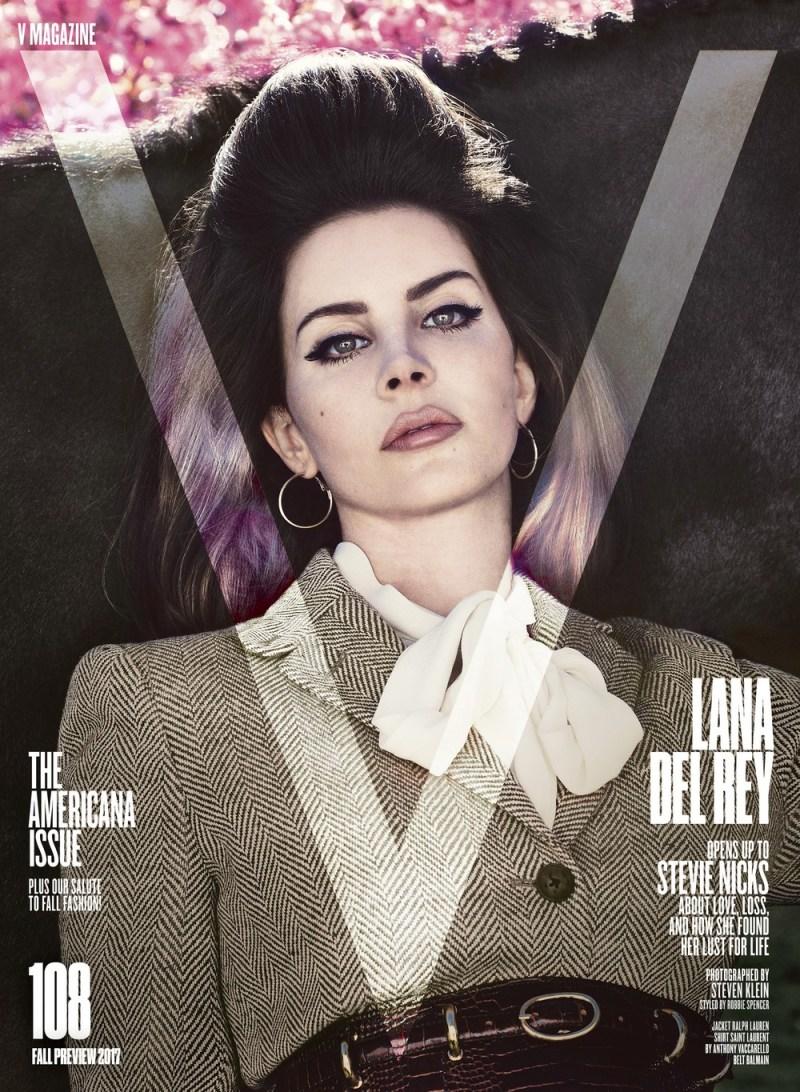 www.pegasebuzz.com   Lana Del Rey by Steven Klein for V Magazine 2017