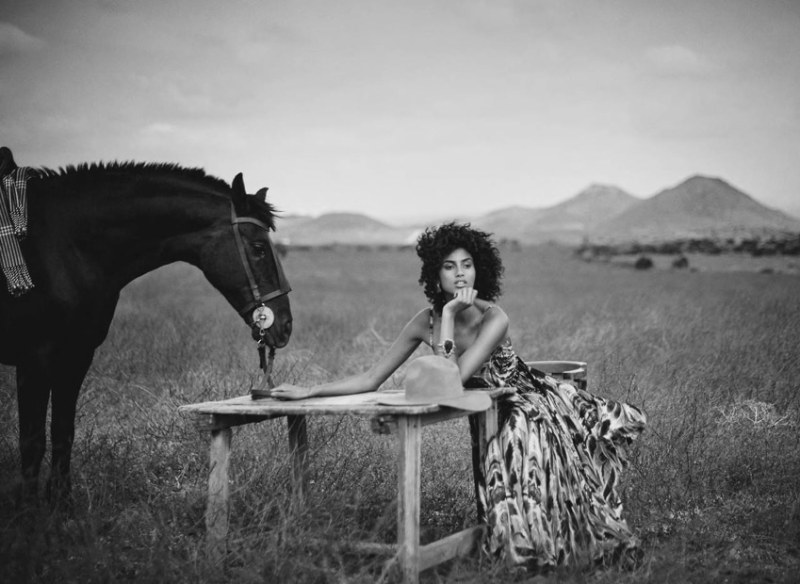 www.pegasebuzz.com   Imaan Hammam by Boo George for Vogue Spain, July 2017