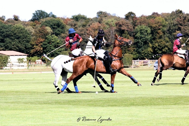 www.pegasebuzz.com | Equestrian photography : Roxanne Legendre - Open de France de Polo 2018 à Chantilly.
