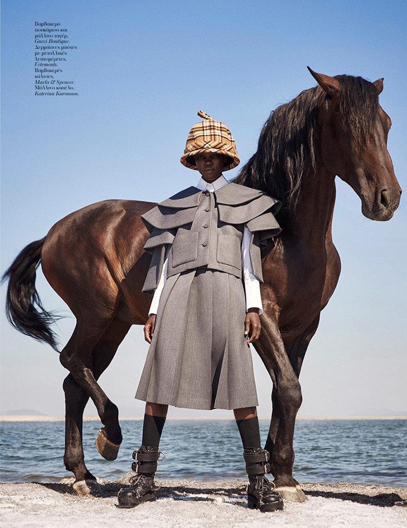 www.pegasebuzz.com | Grace Bol by Richard Phibbs for Vogue Greece, november 2019.