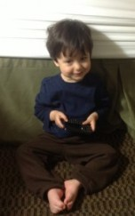 My nephew still likes phones.