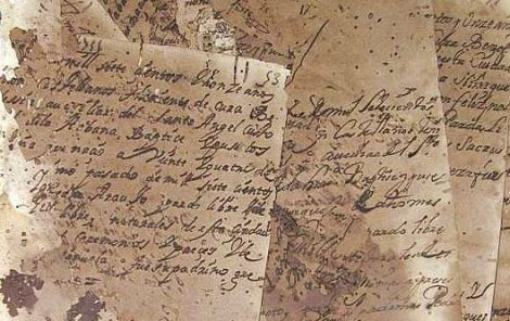Humanities Data: Document fragments from church archives in Cuba