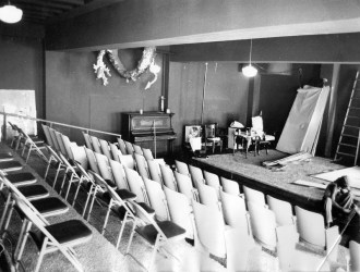 Edgewater Presbyterian Church - first theatre space for Pegasus