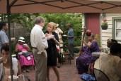 Board Member Gerry Messler and Guest enjoy Gumbo