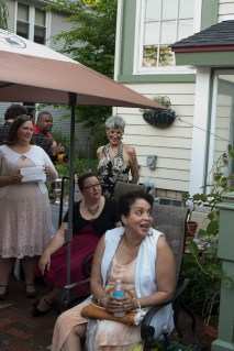 Sarah Mostad, Tsehaye Hebert, Guest and Marsha Estell